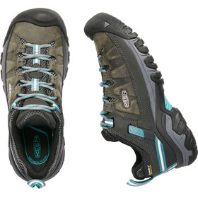Keen Targhee III WP Shoes Women Alcatraz/Blue Turquoise